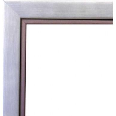 cadre bois argent bord fonc avec verre et dos prix discount sur cadre. Black Bedroom Furniture Sets. Home Design Ideas