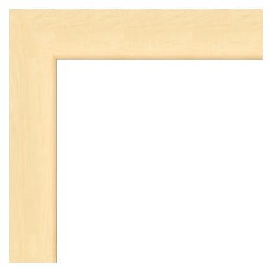cadre bois plat bois naturel avec verre et dos prix discount sur cadre. Black Bedroom Furniture Sets. Home Design Ideas