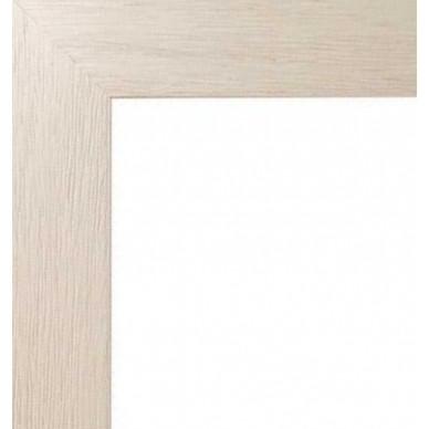 encadrement bois plat stri ivoire avec verre et dos prix discount sur cadre. Black Bedroom Furniture Sets. Home Design Ideas