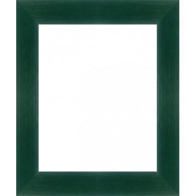 Cadre Vide encadrez votre toile sur chassis avec un cadre vert foncé