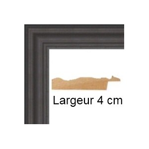 encadrement bois c rus wengue avec verre et dos prix discount sur cadre. Black Bedroom Furniture Sets. Home Design Ideas