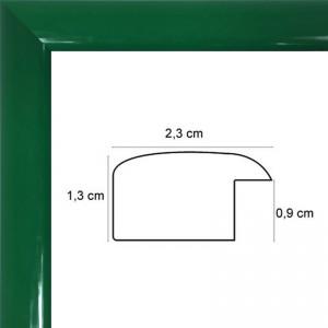 Cadre Laqué Vert
