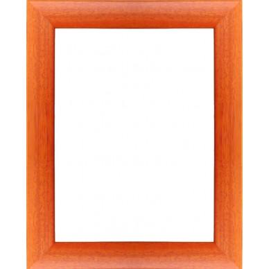 encadrement bois satin orange avec verre et dos prix discount sur cadre. Black Bedroom Furniture Sets. Home Design Ideas