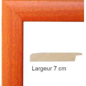 Cadre Satin Orange 50 X 75 Cm