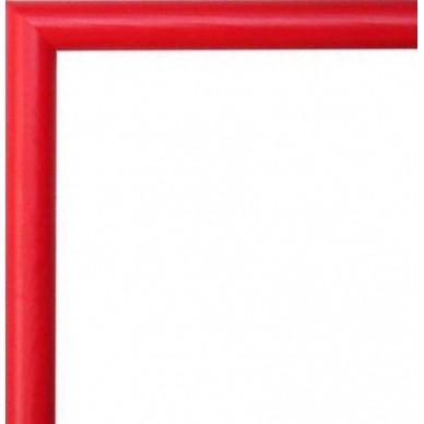 encadrement bois arrondi rouge avec verre et dos prix discount sur cadre. Black Bedroom Furniture Sets. Home Design Ideas
