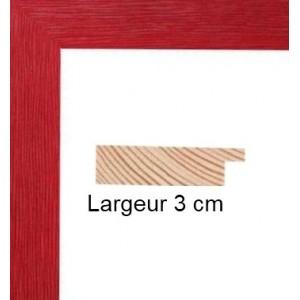 encadrement bois rouge avec verre et dos cadre prix discount sur cadre. Black Bedroom Furniture Sets. Home Design Ideas
