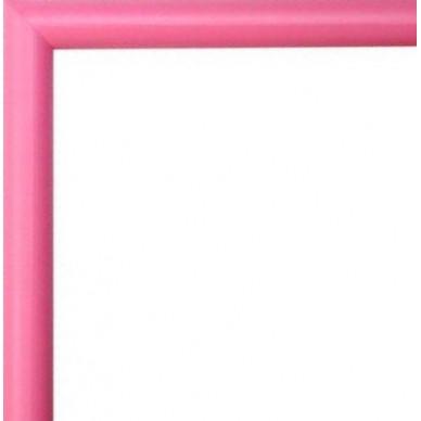 encadrement bois arrondi rose avec verre et dos prix discount sur cadre. Black Bedroom Furniture Sets. Home Design Ideas