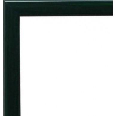 encadrement bois plat laqu vert avec verre et dos prix discount sur cadre. Black Bedroom Furniture Sets. Home Design Ideas