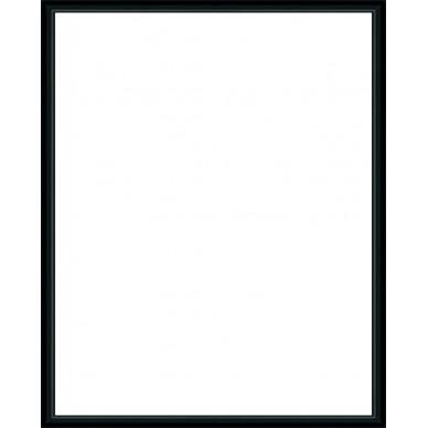 cadre aluminium noir avec plexiglas et dos sur cadre. Black Bedroom Furniture Sets. Home Design Ideas
