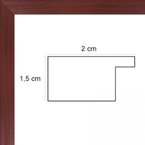 cadre bois plat marron avec verre et dos prix discount sur cadre. Black Bedroom Furniture Sets. Home Design Ideas