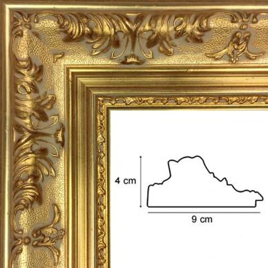 encadrement style regence or avec verre et dos prix. Black Bedroom Furniture Sets. Home Design Ideas
