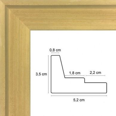 cadre caisse americaine bois naturel prix discount sur cadre. Black Bedroom Furniture Sets. Home Design Ideas