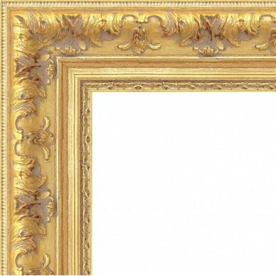 Encadrement style regence or pour encadrer peinture sur - Cadre photo bois brut pas cher ...