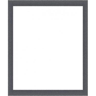 encadrement gris tachet blanc avec verre et dos prix discount sur cadre. Black Bedroom Furniture Sets. Home Design Ideas