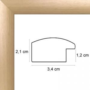 cadres bois naturel sur mesure encadrement bois tout format sur cadre. Black Bedroom Furniture Sets. Home Design Ideas