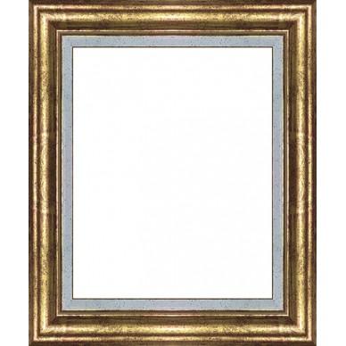 Cadre Vide cadre vide doré avec marie-louise sur mesure encadrement bois doré