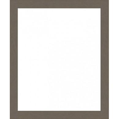 Cadre Vide cadre vide bois gris souris sur mesure - encadrement bois gris